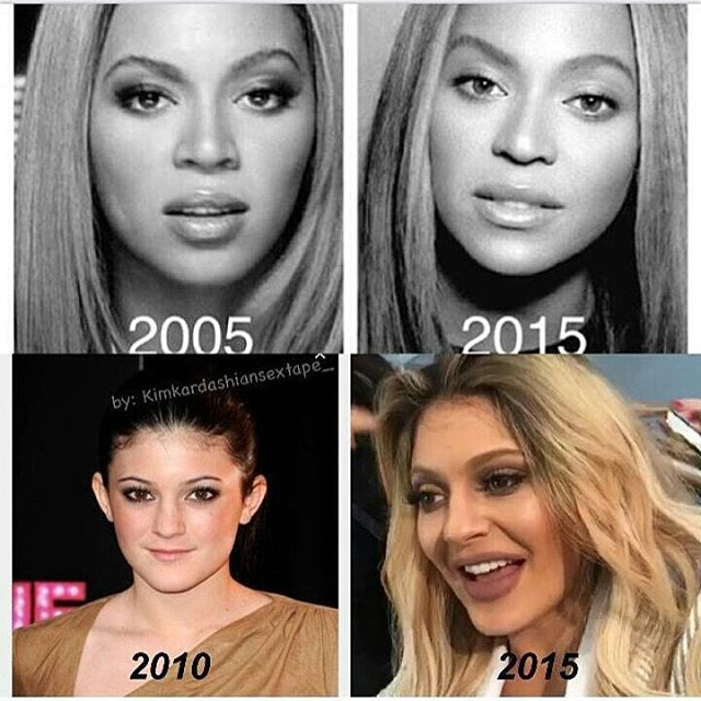 Beyonce and Kylie Jenner