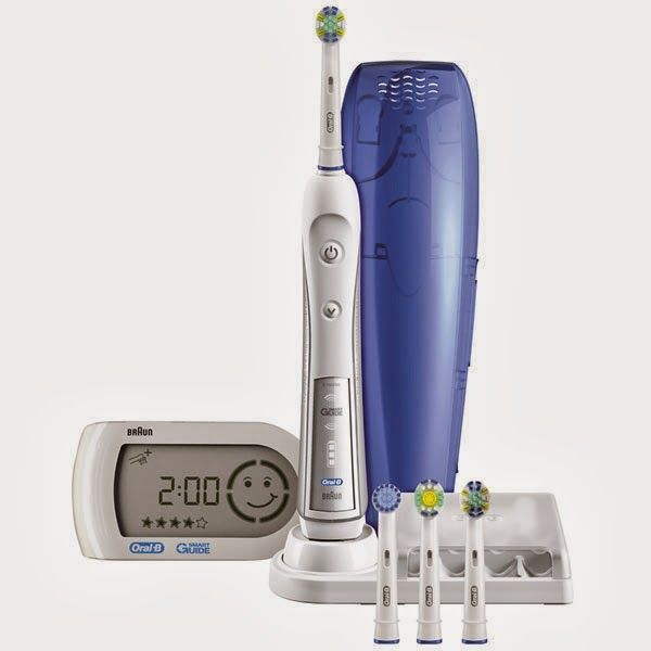 Las gangas de un berubyano: Hora de lavarse los dientes con el cepillo Oral B Triumph 5000 por 79,99 euros!!!