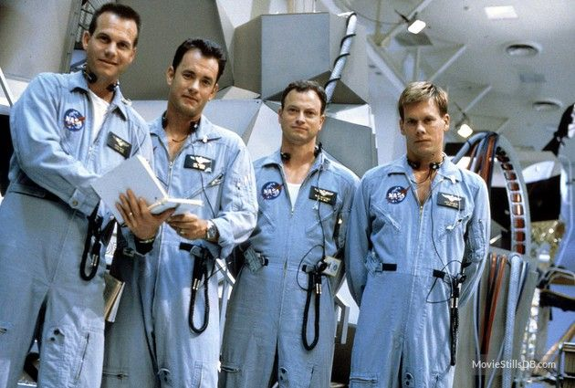Apollo 13 - Promo shot of Tom Hanks, Kevin Bacon, Bill Paxton & Gary Sinise