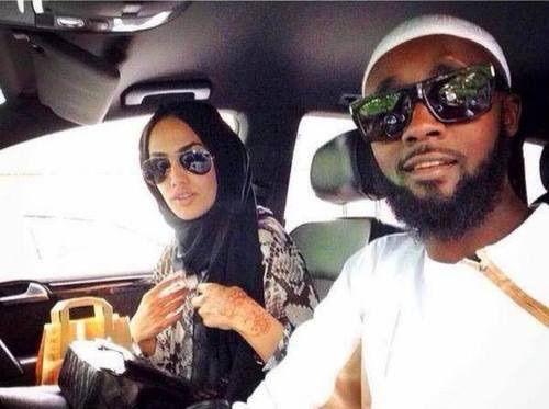 Image via We Heart It https://weheartit.com/entry/174426341/via/30221932 #couple #islam #love #mariage #MIXTE #renoi #rebeů