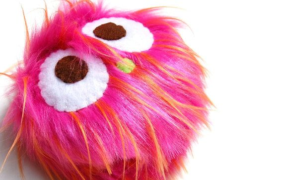 An The Eco Friendly Pocket Monster Plush Toy by vivikas on Etsy, $14.00