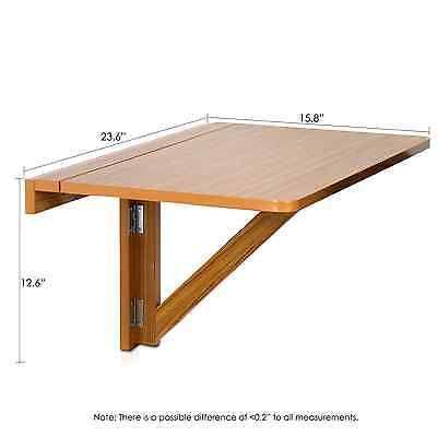 NEW-Wall-Mount-Folding-Table-Drop-Leaf-Furniture-Kitchen-Dining-Side-Desk-Wood