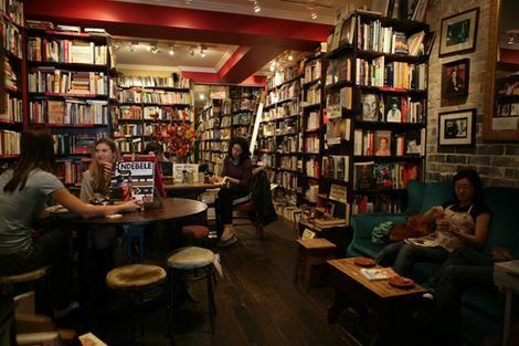 Gertrude and Alice bookshop/cafe, Hall street, Bondi.