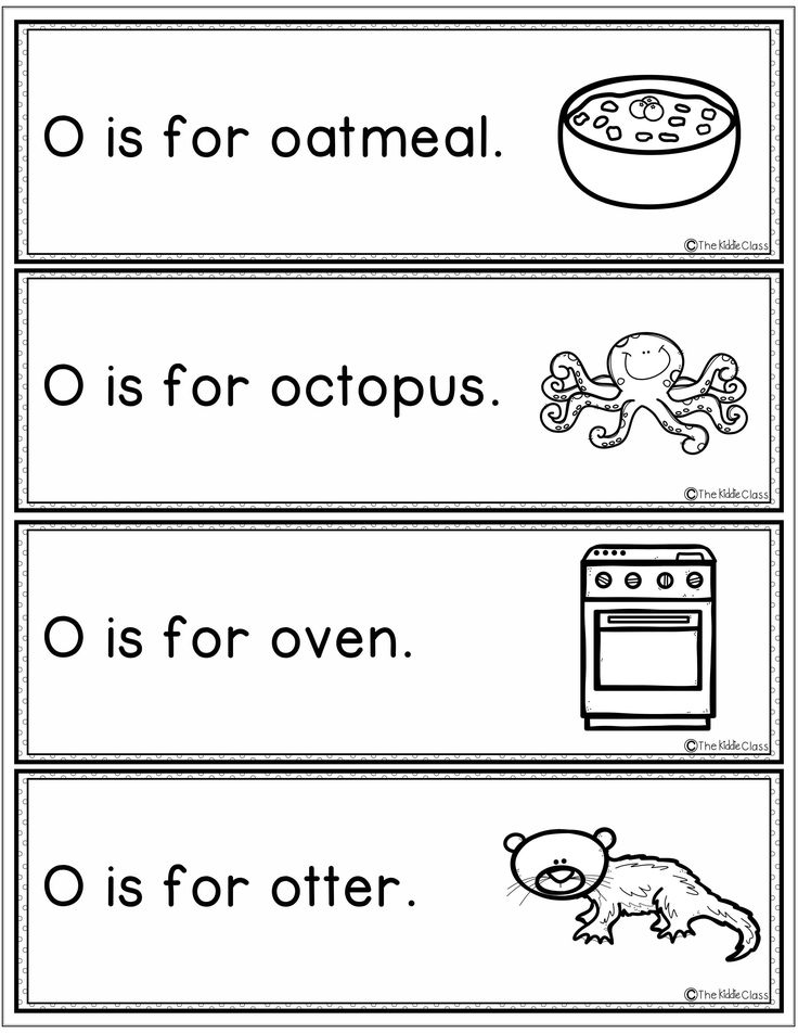 Letter of the Week O Reading worksheets, Letter o