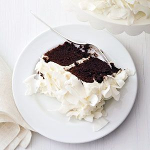 Chocolate Cake with Coconut Cream | This chocolate cake is ALMOST too ...