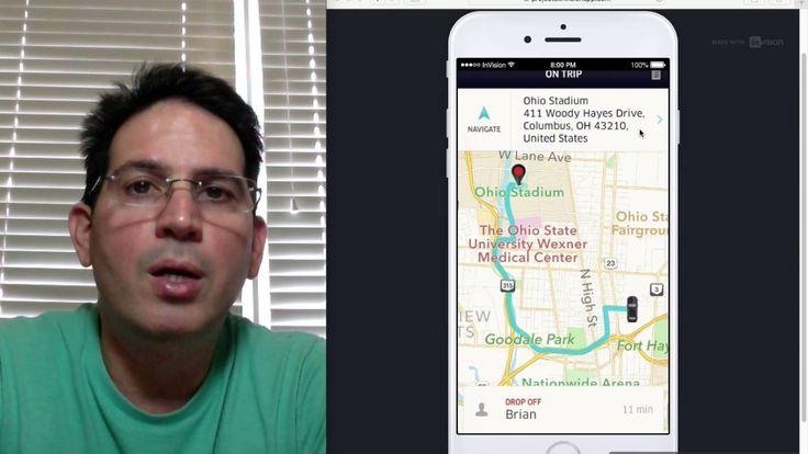 Changing Passenger Destination on Uber Driver App