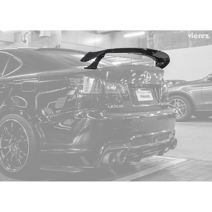Vicrez SDR Carbon Fiber Rear Wing Spoiler Vz101110 For