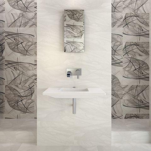 idea for master bath ceramic tile (by bien seramik saba) to be designed by down2earth interior design.