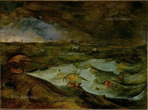 Momper, Joos de (1564-1635)  Storm at Sea
