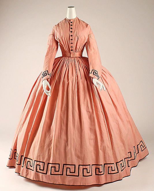 Dress - ca 1862, American - the MET