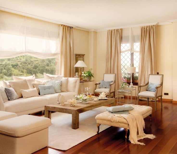 el color marfil, un plata claro, el color hueso, lino o nieve. Para tonos suaves, pero algo más atrevidos, puedes probar con el albaricoque, el beige o el durazno, que pondrán la nota anaranjada y son muy recomendados para habitaciones o salas de estar.