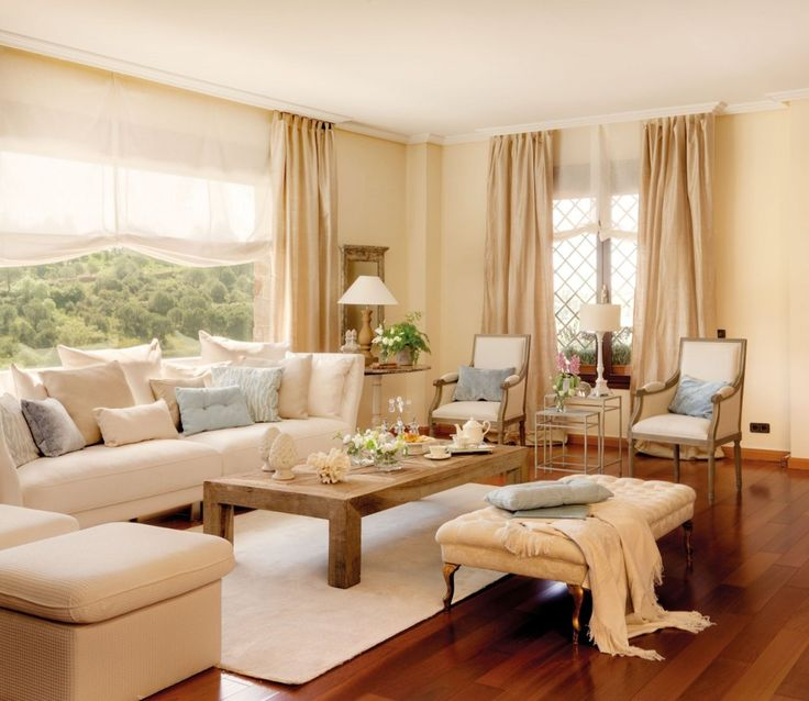 Las 25 mejores ideas sobre salas de estar elegantes en for Colores de muebles de sala