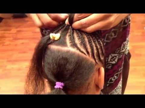 children s cornrow style by tope at natural locs salon