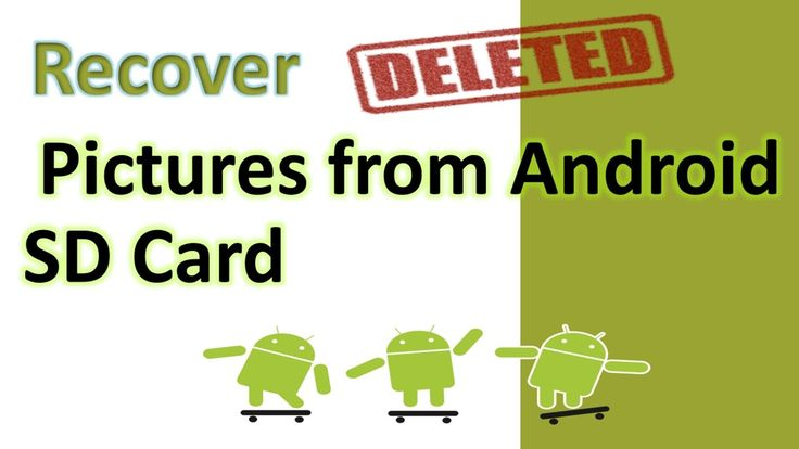 Recover Deleted Pictures from Android SD Card