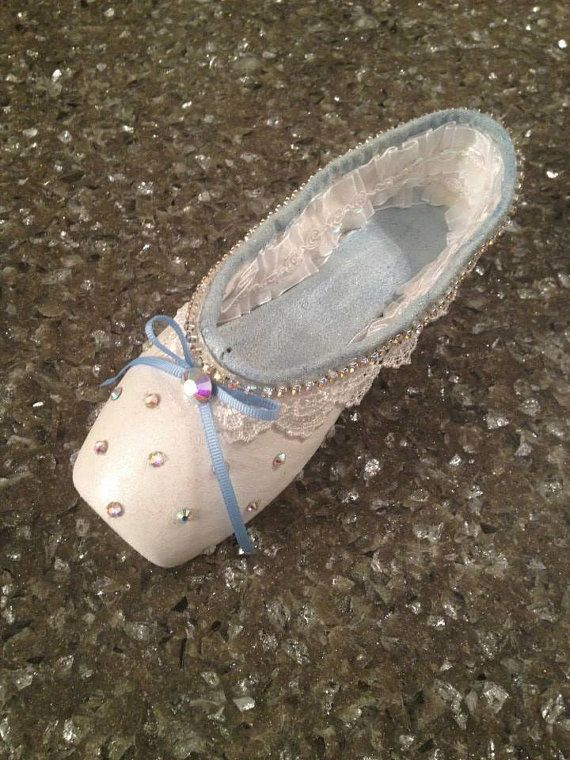 Nutcracker Clara Decorative Pointe Shoe by TrinaToppers on Etsy, $75.00