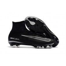 Discount Nike Mercurial Superfly V Tech Craft 2.0 FG Soccer Cleats - Black/ Dark Grey