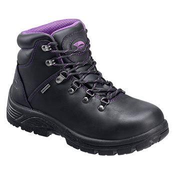 Avenger Women's Waterproof Steel Safety Toe Hiking Boots