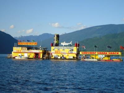 Shark Shack - Shuswap Lake, BC!!!!