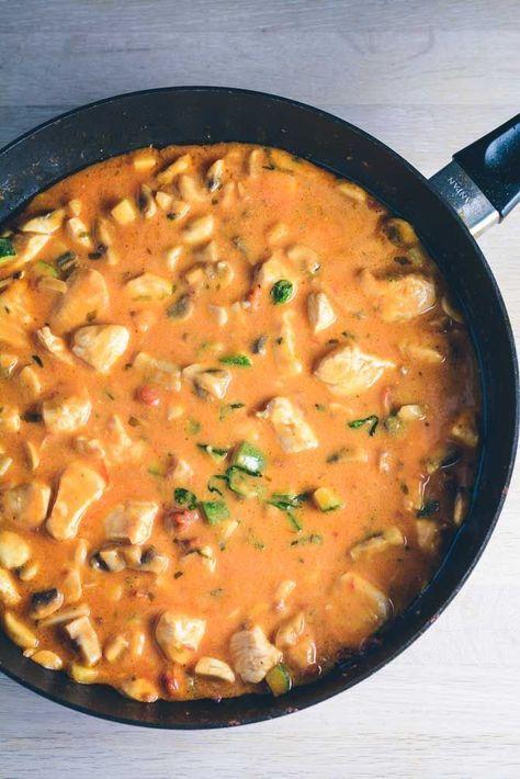 Kylling pastasauce