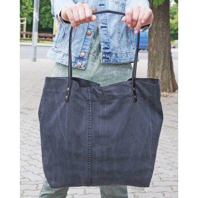 Jeans Shopper - Black