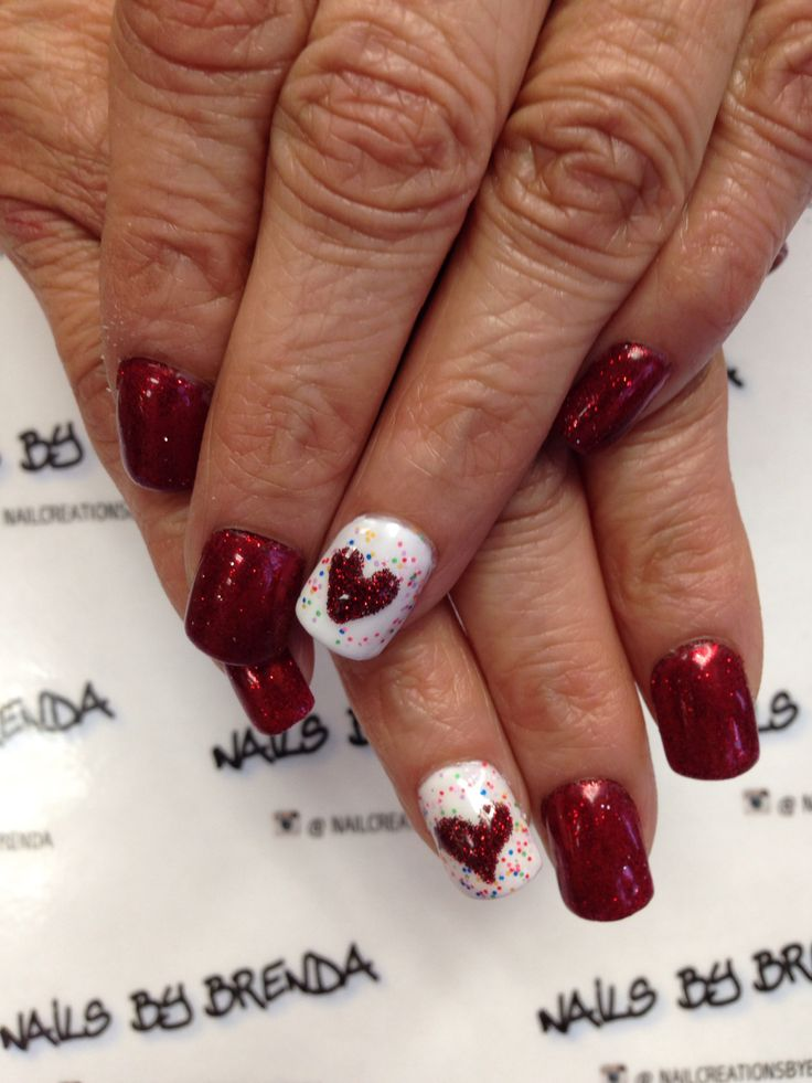 86 best Valintine Nails images on Pinterest | Nail art galleries ...