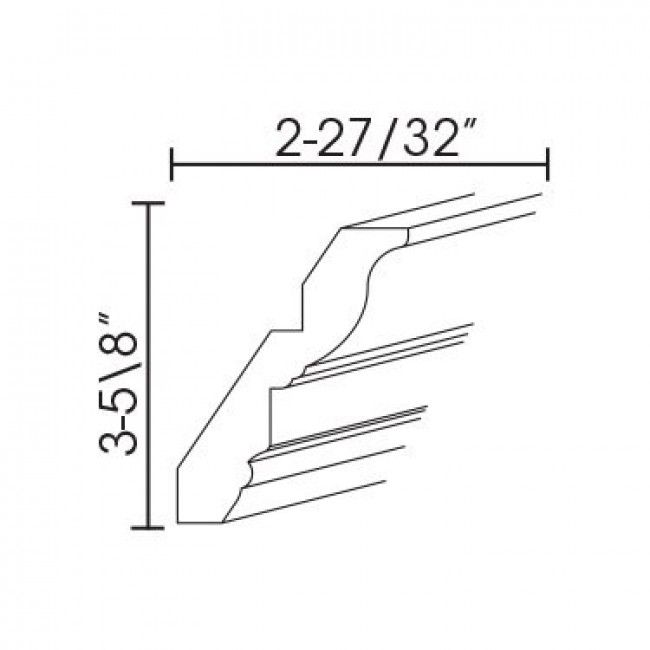"Beautiful Résultat de recherche d images pour ""shaker crown molding"" Fresh - Best of crown molding measurements Unique"