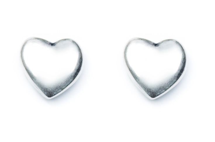 Heart earrings to show you care