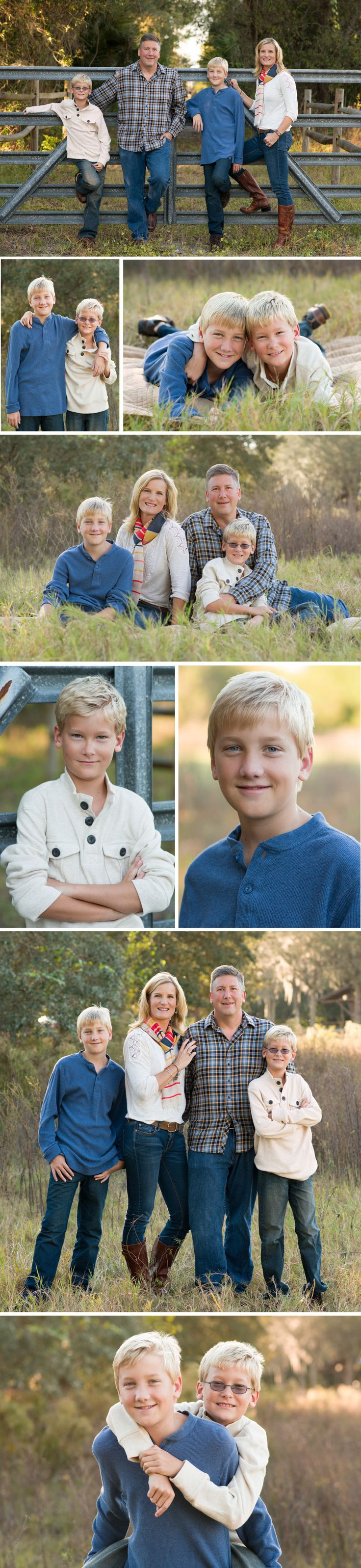 Family Photos Session by Tampa family photographer Sherri Kelly, Family photo poses, family older children, sibling photo poses