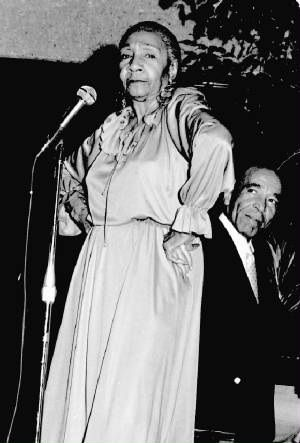 Alberta Hunter (April 1,1895 – October 17, 1984) was an blues singer, songwriter, and nurse. Her career had started back in the early 1920s, and from there on, she became a successful jazz and blues recording artist, being critically acclaimed to the ranks of Ethel Waters and Bessie Smith. In the 1950s, she retired from performing and entered the medical field only to successfully resume her singing career in her 80s.
