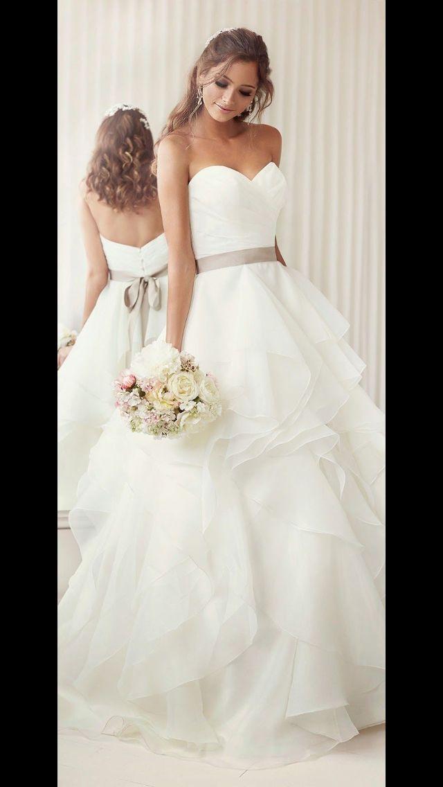 12 besten Wedding dresses Bilder auf Pinterest | Hochzeitskleider ...