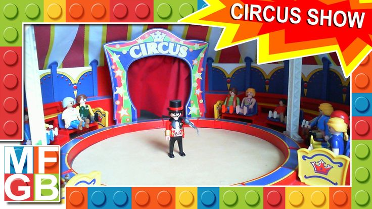 Playmobil Circus Show - Full Version ( Stop-Motion Animation ) Circus Playmobil - Circo Playmobil - Zirkus Playmobil - Cirque Playmobil See also: - All Shows...