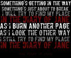 Diary of Jane - Breaking Benjamin