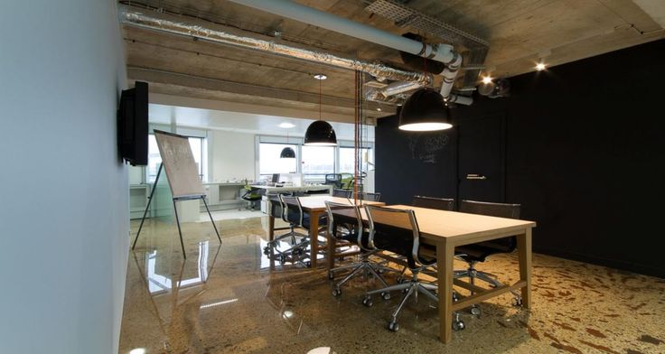 Meeting area into the premises of TUI in Levallois, France