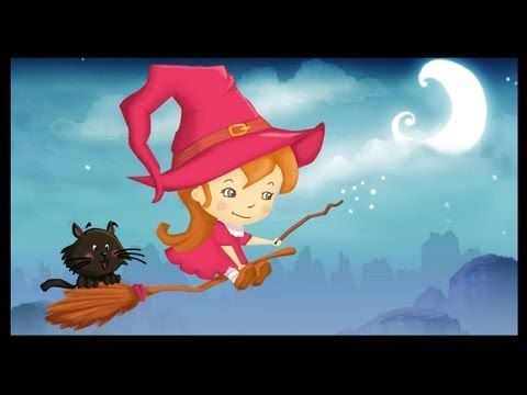 Cute French cartoon and song about a witch