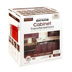 Cabinet Transformations® is a cost-effective, do-it-yourself coating system that completely changes the look of your cabinets without having to buy new ones.