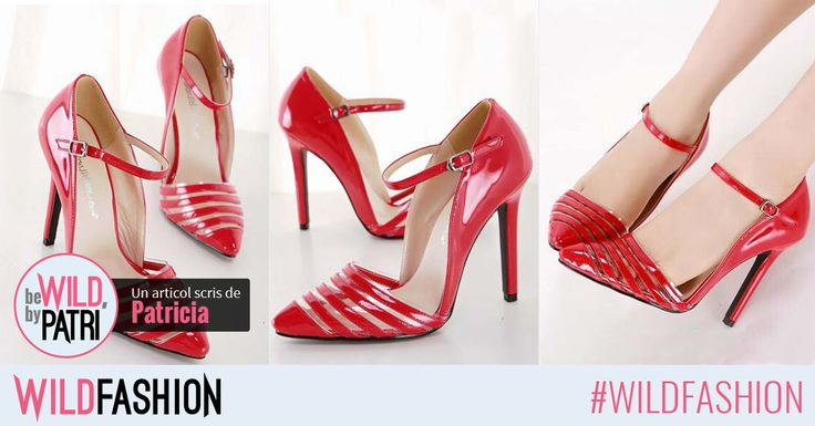 Completeaza-ti tinuta de Valentine's Day cu o pereche de pantofi eleganti si deosebiti!
