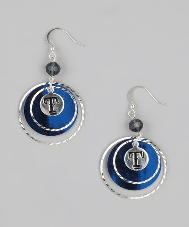 Take a look at this Texas Rangers Game-Day Earrings by LogoArt on #zulily today!