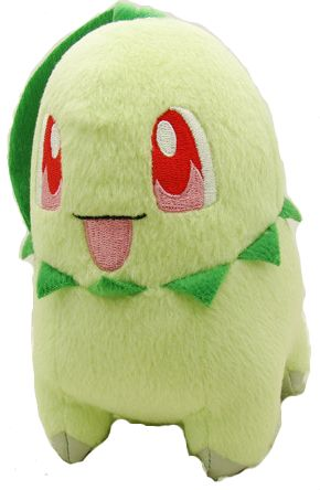 Chikorita Pokemon Plush