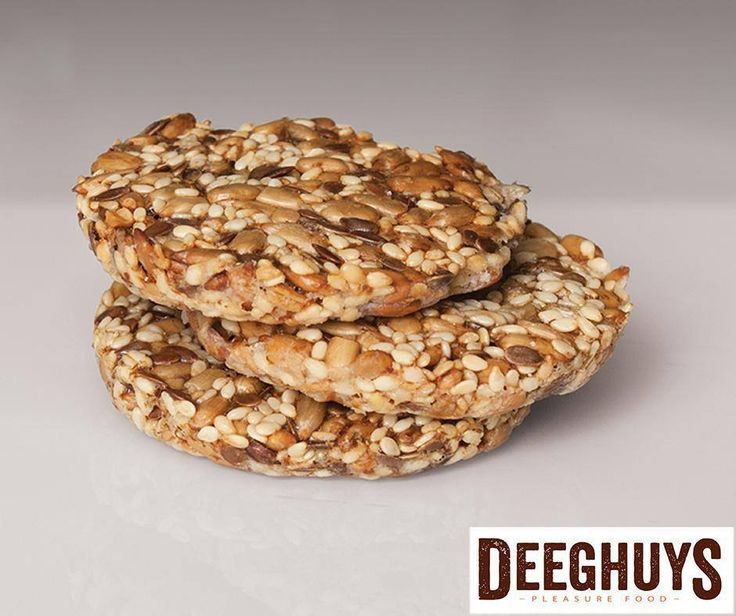 Our #Banting Seed Crackers are perfect to snack on and for lunch boxes. Get yours today at #DeeghuysGeorge. Visit us at the #GardenRouteMall.