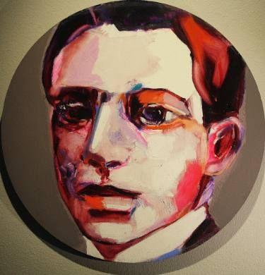 "Saatchi Art Artist Patricia Derks; Painting, ""Men"" #art"