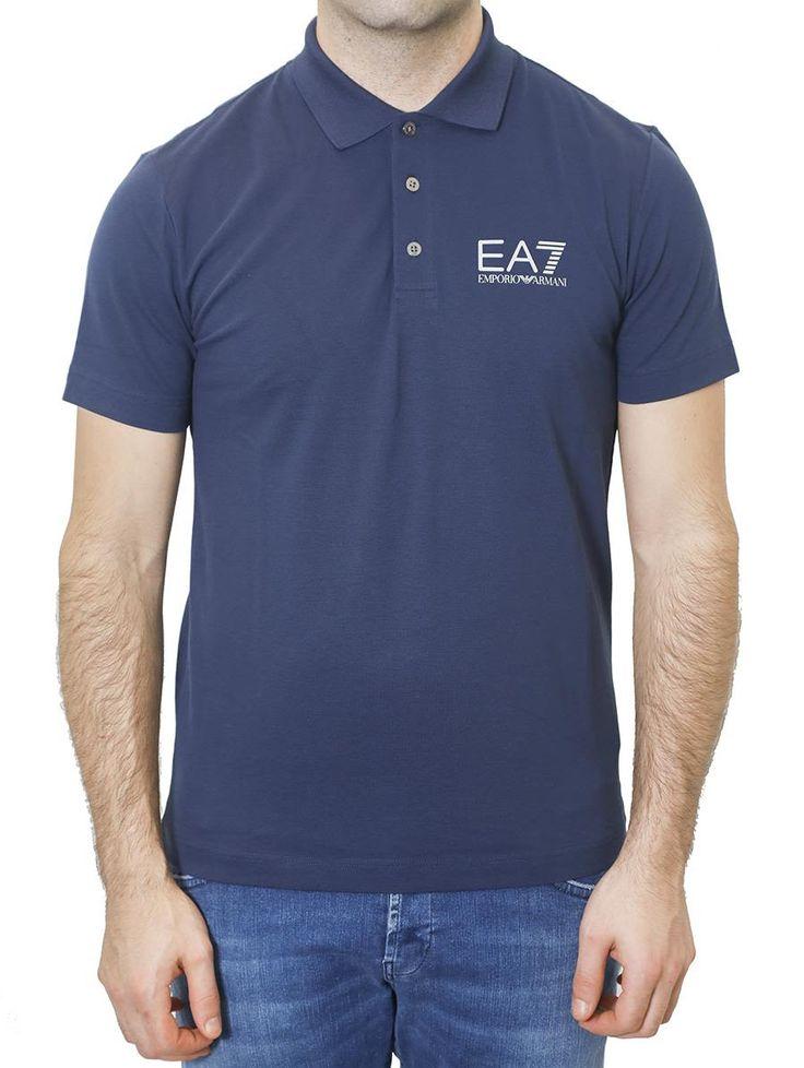 EA7 EMPORIO ARMANI EA7 - COTTON POLO SHIRT. #ea7 #cloth #