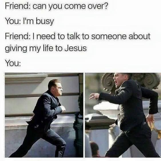 BAE home alone Christian meme  #nosoulleftbehind #christianmemes