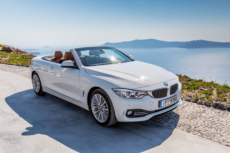 #Luxury #BMW 420D #Convertible #Sunny Santorini #Luxury Cars