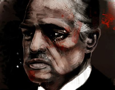 "Check out new work on my @Behance portfolio: ""The Godfather"" http://on.be.net/1M4fflI"