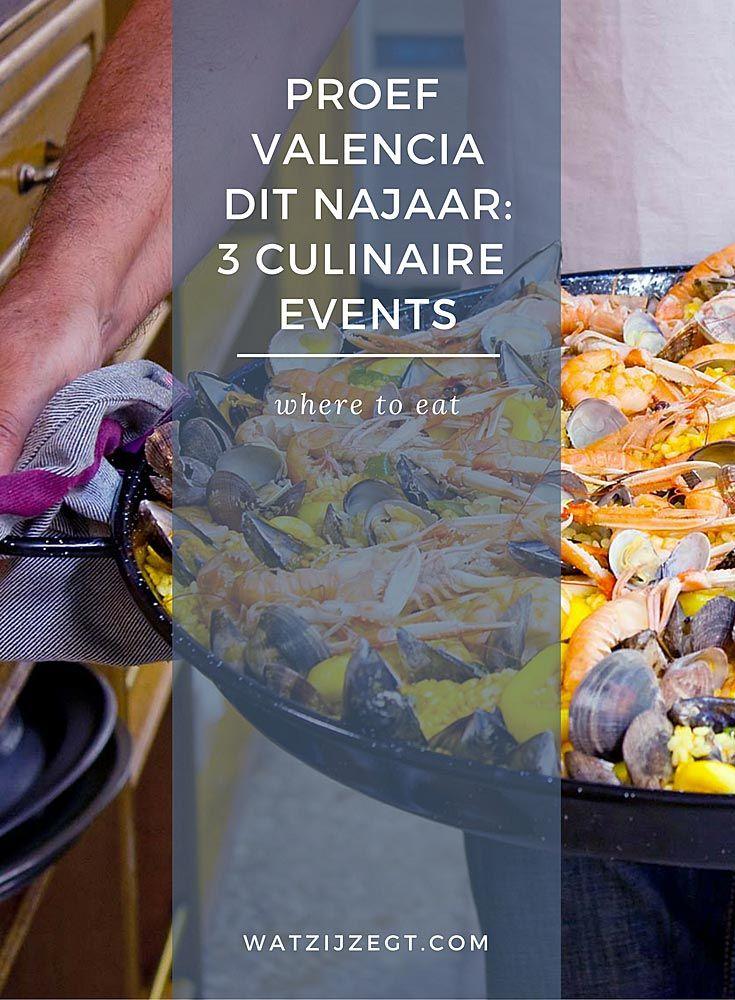 Proef Valencia dit najaar tijdens deze culinaire events
