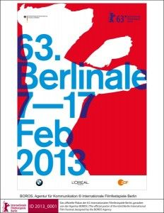 Amazing new poster for 63rd Berlinale