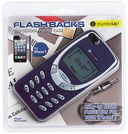 Чехол для пятого айфона «Старый телефон»