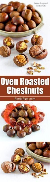 If you have never ea If you have never eaten Oven Roasted...  If you have never ea If you have never eaten Oven Roasted Chestnuts it is time to give them a try. They are sweet nutty and perfect for the holidays.   RotiNRice.com Recipe : http://ift.tt/1hGiZgA And @ItsNutella  http://ift.tt/2v8iUYW