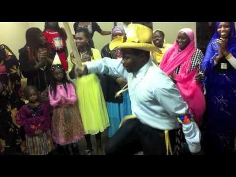 Nuba Tribe Cultural Dance In BC, Canada