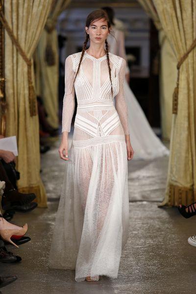 Vestidos de novia manga larga 2017: 60 diseños elegantes y con mucho estilo Image: 59